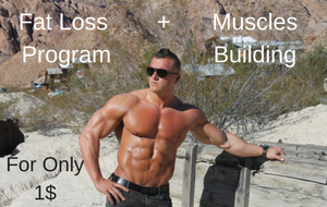 Best Fat loss and Muscle building Program for Only 1$